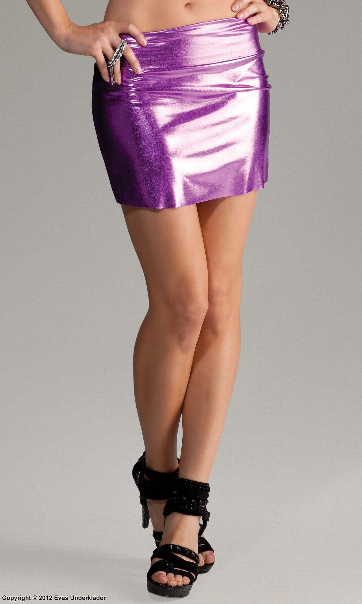 kort tight kjol